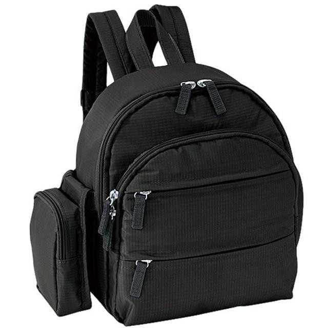 シャルミス CHARMISS トリップ デイパック リュック バッグ 15-5002-10 ブラック