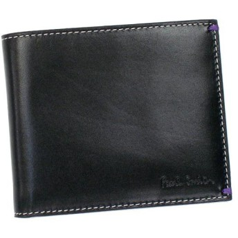 ポールスミス paul smith 財布 二つ折りカード w403 1032 bk