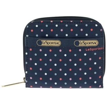 レスポートサック LESPORTSAC レディース ファスナー付 二つ折り短財布 6505-D545