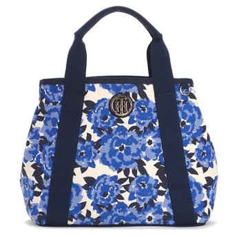 TOMMY HILFIGER トミー ヒルフィガー トートバッグ FLORAL CANVAS 6933129