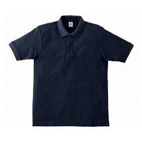 鹿の子ドライポロシャツ MS3113 ネイビー 5L ボンマックス O0652