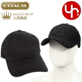 コーチ COACH アパレル 帽子 F86005 ブラック COACH ロゴ ベースボール キャップ アウトレット メンズ レディース