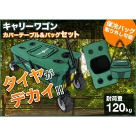キャリーワゴン用 カバーテーブル&バッグセット キャリーカート 送料無料