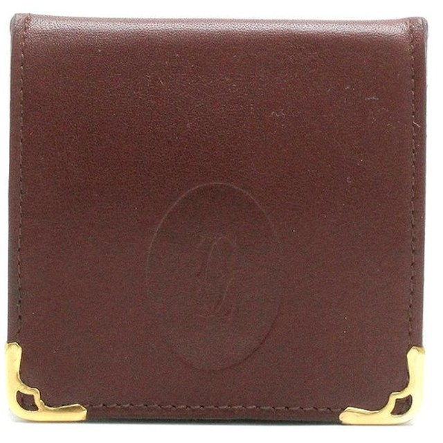 8df9ea631b61 (財布)Cartier カルティエ マストライン マスト ドゥ カルティエ スクエア コインパース コインケース 小銭