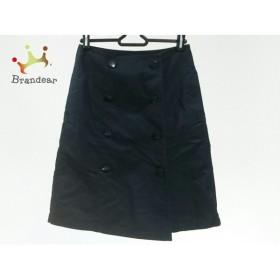 マルティニーク martinique 巻きスカート サイズ1 S レディース 美品 黒       スペシャル特価 20190417