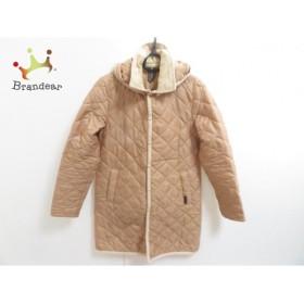 ラベンハム コート サイズ38 M レディース ライトブラウン×ベージュ 春・秋物/キルティング           スペシャル特価 20190123