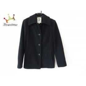 ミッシェルクラン MICHELKLEIN コート サイズ38 M レディース 美品 黒 冬物                  値下げ 20190108