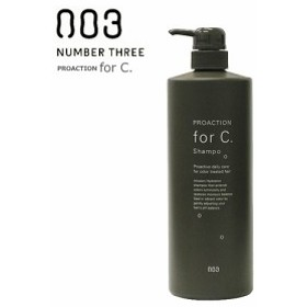 ナンバースリー [PROACTION for C.] プロアクション フォーシーシャンプー [1000ml]