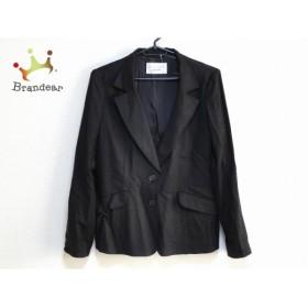 プルミエール Premiere ジャケット サイズ11 M レディース 美品 ダークブラウン ROCHAS             スペシャル特価 20190808