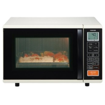 在庫処分!東芝(TOSHIBA)石窯オーブン遠赤オーブンレンジ ER-K3 アイボリーホワイト