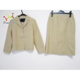 アンタイトル UNTITLED スカートスーツ サイズ9 M レディース ライトブラウン             スペシャル特価 20190627