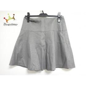 アドーア ADORE スカート サイズ36 S レディース グレー ラメ      スペシャル特価 20190626