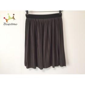 ロイスクレヨン Lois CRAYON スカート サイズM レディース ダークグレー×黒                 スペシャル特価 20190317
