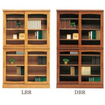 本棚 (フレンド 105 スライド書棚)幅105cm 木製
