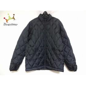 ニジュウサンク ダウンジャケット サイズ1 S レディース 黒 リバーシブル/キルティング/冬物     スペシャル特価 20190216