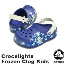 【送料無料】クロックス(CROCS) クロックスライツ フローズン クロッグ キッズ/アナと雪の女王 サンダル【子供用】[AA]【40】