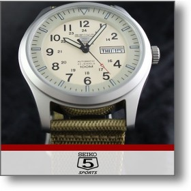 セイコー5 逆輸入モデル SEIKO5 セイコーファイブ SEIKO 5スポーツ 100m防水  メンズ 腕時計 SNZG07K1