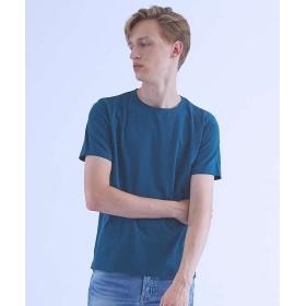アバハウス 圧着クルーネックTシャツ メンズ ビリジアン 44 【ABAHOUSE】