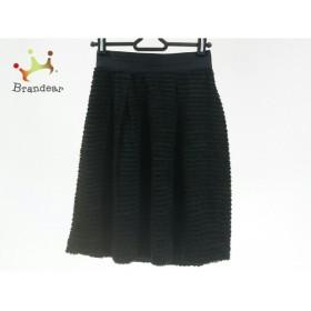 マルティニーク martinique スカート サイズ1 S レディース 美品 黒 フリル         スペシャル特価 20191007