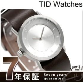 TID watches ティッドウォッチ 時計 36mm No.1 レザー TID01-36 SV/W