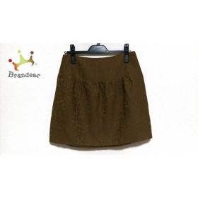 ドレステリア DRESSTERIOR スカート サイズ38 M レディース ブラウン             スペシャル特価 20190321