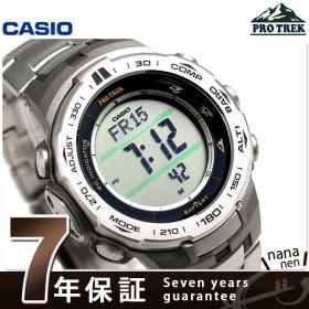 カシオ プロトレック 方位計 高度計 気圧計 電波ソーラー PRW-3100T-7ER CASIO 腕時計