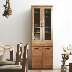 キッチン収納 食器棚 完成品 キッチンボード おしゃれ 食器棚 スライドレール 台所 収納 引き出し キャビネット 国産 日本製