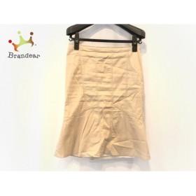 マテリア MATERIA スカート サイズ36 S レディース アイボリー 裾切り替え               スペシャル特価 20191102