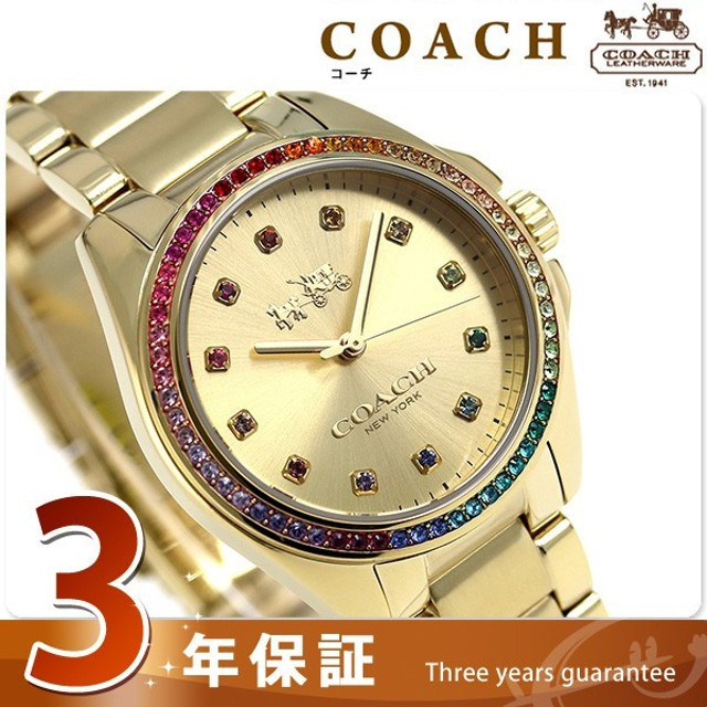 4cafb61d1fd1 コーチ トリステン クオーツ レディース 腕時計 14502507 COACH 通販 ...