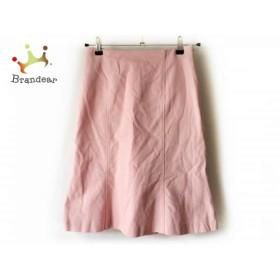 アルマアンローズ ALMA EN ROSE スカート サイズ38 M レディース 美品 ピンク           スペシャル特価 20190629