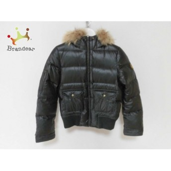 バーバリーブルーレーベル ダウンジャケット サイズ40 M レディース 黒 冬物 スペシャル特価 20190524