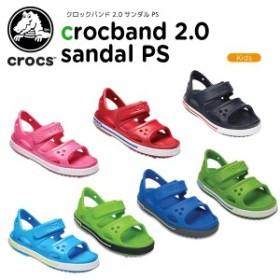 f3cdba515624ae クロックス(crocs) クロックバンド 2.0 サンダル PS(crocband 2.0 sandal PS) キッズ