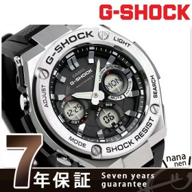 Gショック Gスチール 電波ソーラーメンズ 腕時計 GST-W110-1AER G-SHOCK 黒