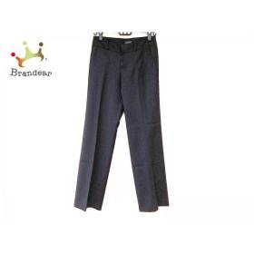 トゥモローランド TOMORROWLAND パンツ サイズ36 S レディース 黒   スペシャル特価 20190713