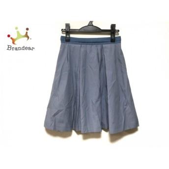 ジャスグリッティー JUSGLITTY スカート サイズ2 M レディース 美品 ライトブルー     スペシャル特価 20190717