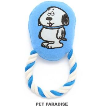 【オンワード】 PET PARADISE(ペットパラダイス) スヌーピー 犬用おもちゃ デイジーヒル オラフ 青 -