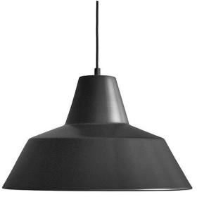増税前に使える1,000円OFFクーポン|ペンダント照明|メイド・バイ・ハンド「The work shop lamp」 XL / マットブラック