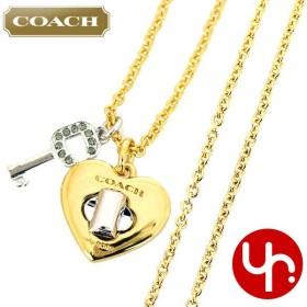 c577231c4286 コーチ COACH アクセサリー ネックレス F54486 ゴールド×シルバー バレンタイン ハート キー ロング ネックレス (ボックス付き