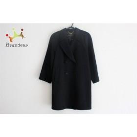 レリアン Leilian コート サイズ9 M レディース 美品 黒  スペシャル特価 20190601