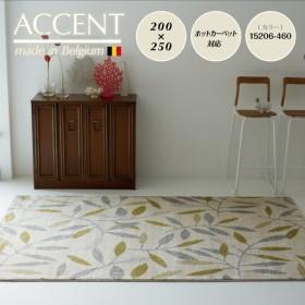 カーペット ラグ (ACCENT アクセント 15206-460 約200×250cm) 敷き/絨毯/リビング/洋室