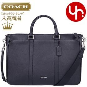 コーチ COACH バッグ ビジネスバッグ F59141 ブラック メトロポリタン クロスグレーン レザー ビジネス トート アウトレット メンズ レディース