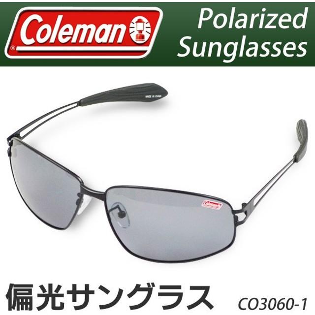 1cfcd501ff15e3 Coleman コールマン 偏光サングラス 正規品 ( CO3060-1 CO3060-2 ) メタルフレーム
