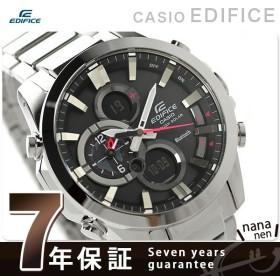 本日さらに+4倍でポイント最大21倍! カシオ エディフィス モバイルリンク Bluetooth 腕時計 ECB-500D-1AER