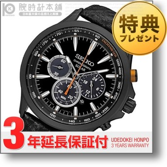 セイコー 逆輸入モデル クロノグラフ  SEIKO CHRONOGRAPH   メンズ 腕時計 SSC499P1