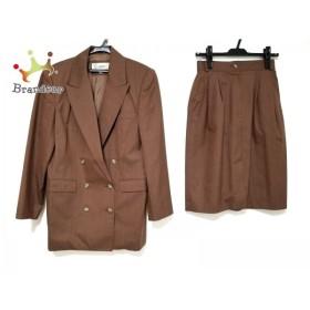 スキャパ Scapa スカートスーツ サイズ38 L レディース ブラウン           スペシャル特価 20190507
