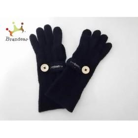 オロビアンコ OROBIANCO 手袋 レディース 黒 ウール           スペシャル特価 20190523