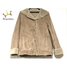 ブラーミン BRAHMIN コート サイズ38 M レディース ライトブラウン 冬物           スペシャル特価 20190123
