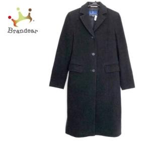 バーバリーブルーレーベル Burberry Blue Label コート サイズ38 M レディース 黒 冬物         スペシャル特価 20190819