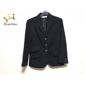 トランテアンソンドゥモード 31Sonsdemode ジャケット サイズ36 S レディース 美品 黒                 スペシャル特価 20190820