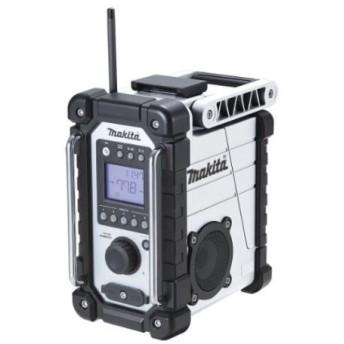 マキタ 10.8-18V 充電式ラジオ MR107W 白